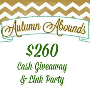 Autumn Abounds Giveaway and Link Party