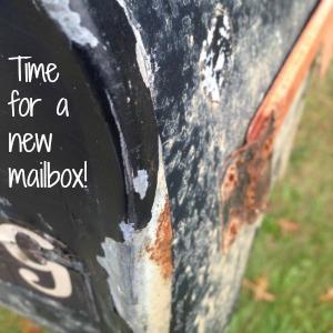 DIY mailbox vinyl decal tutorial at diyshowoff
