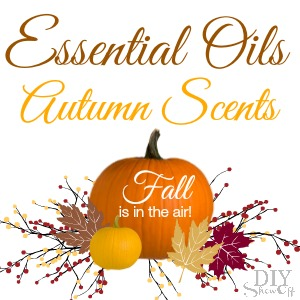 Fall Scents for your home with Essential Oils @diyshowoff