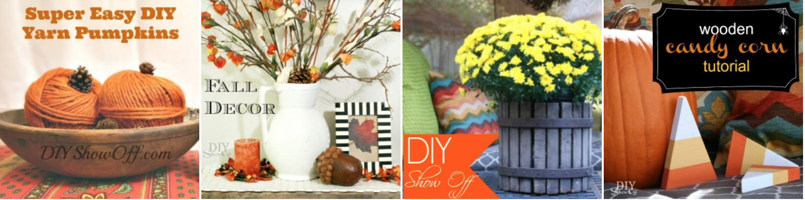 DIY fall ideas @diyshowoff