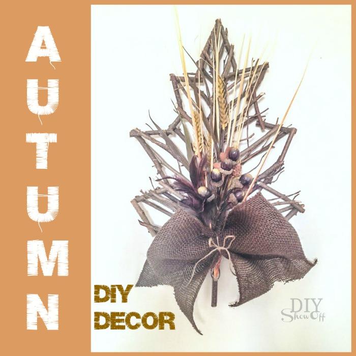 autum DIY decor - diyshowoff.com