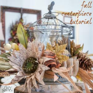 autumn centerpiece at diyshowoff.com