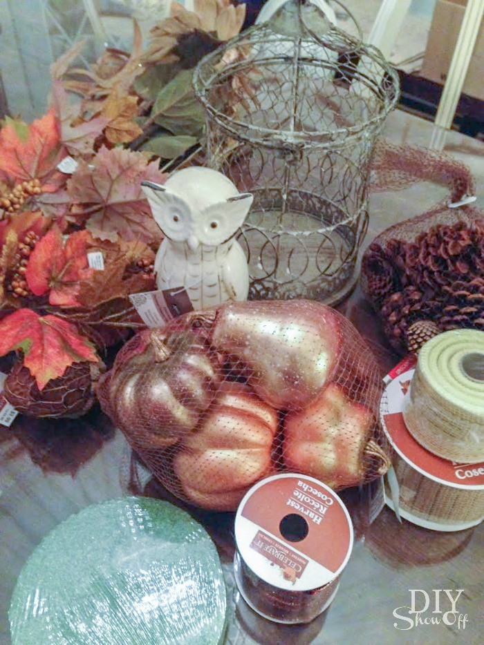fall centerpiece materials #michaelsmakers
