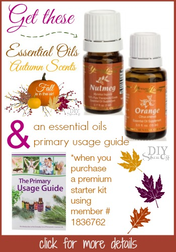 fall essential oils special deal @diyshowoff