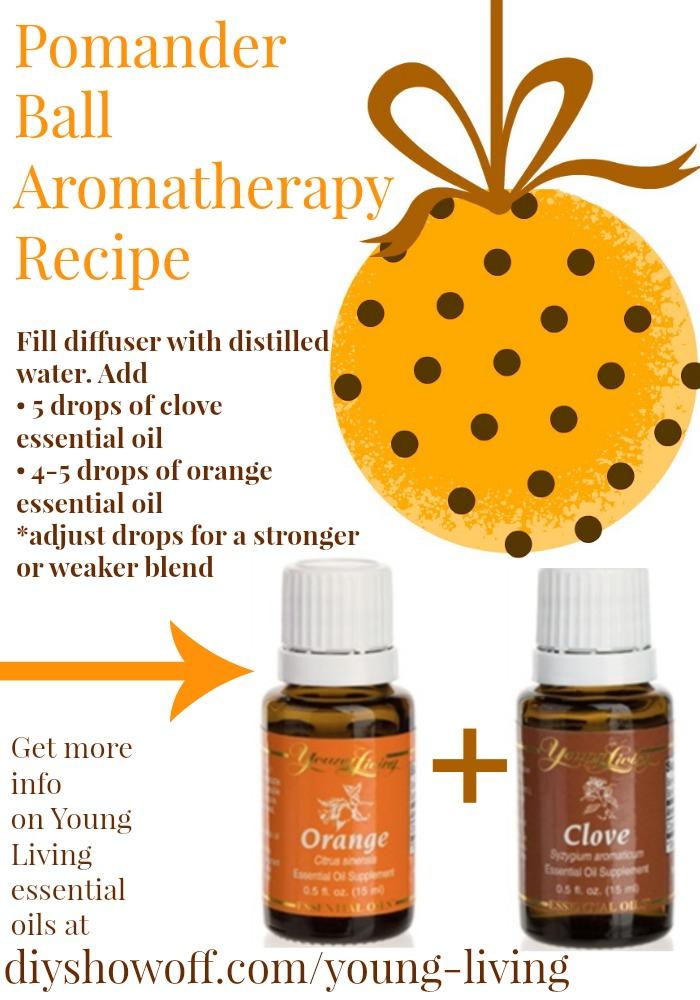 pomander ball aromatherapy recipe @diyshowoff