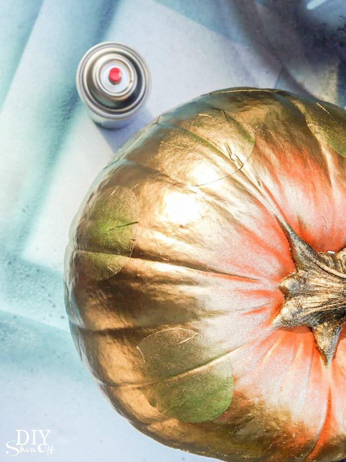 FrogTape pumpkin stencil tutorial @diyshowoff