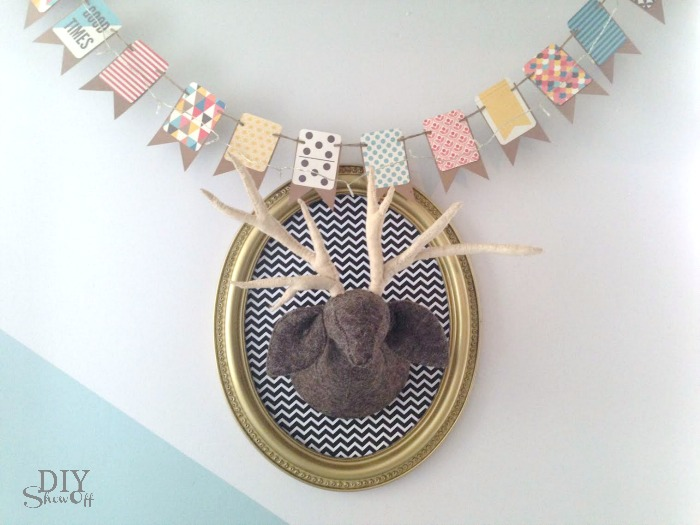 nursery wall decor tutorial @diyshowoff