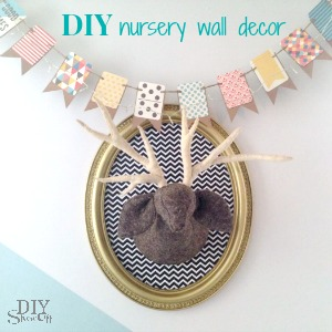 DIY nursery wall decor at diyshowoff.com