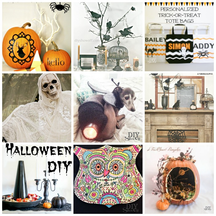 Halloween DIY projects @diyshowoff