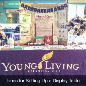 Ideas for setting up a display table @diyshowoff