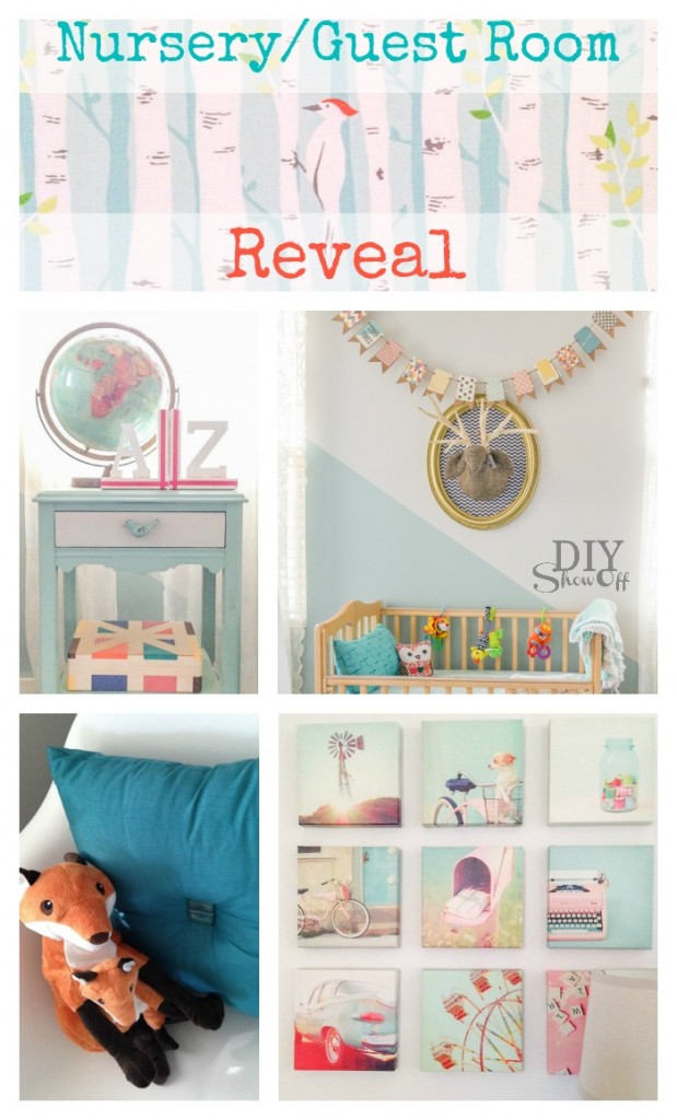 Nursery Guest Room Reveal @diyshowoff
