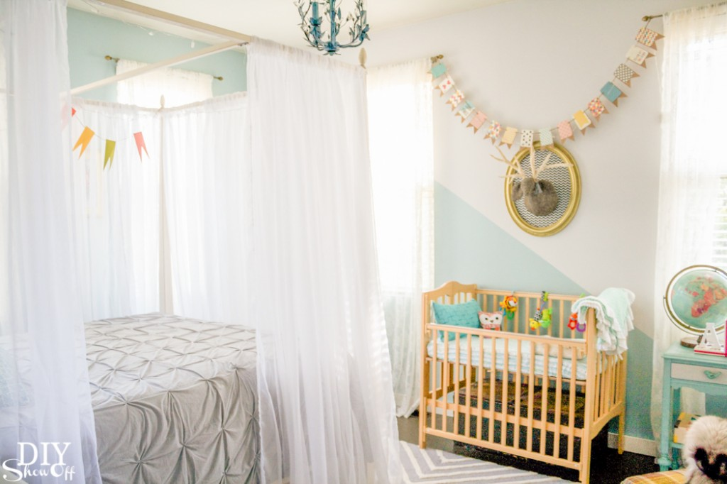 Guest Room/Nursery reveal @diyshowoff