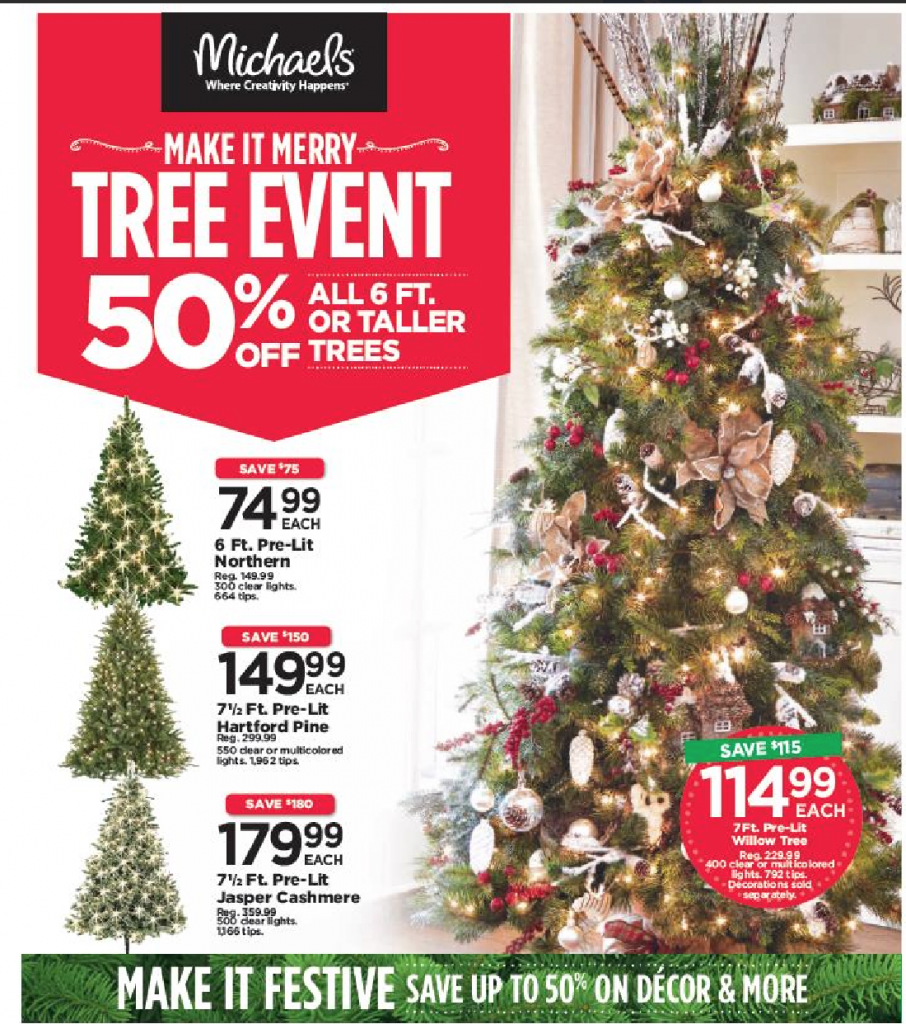 Make it Merry at Michaels