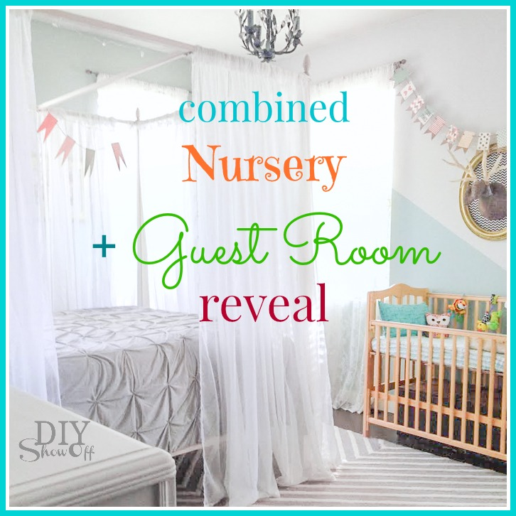 Guest Room Nursery Makeover Revealdiy Show Off Diy