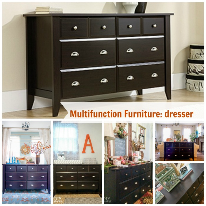 Multi-functional Furniture: Dresser