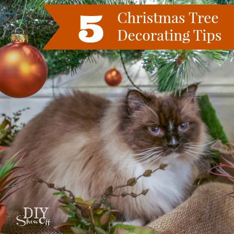 5 Christmas Tree Decorating Tips @diyshowoff #michaelsmakers #tagatree