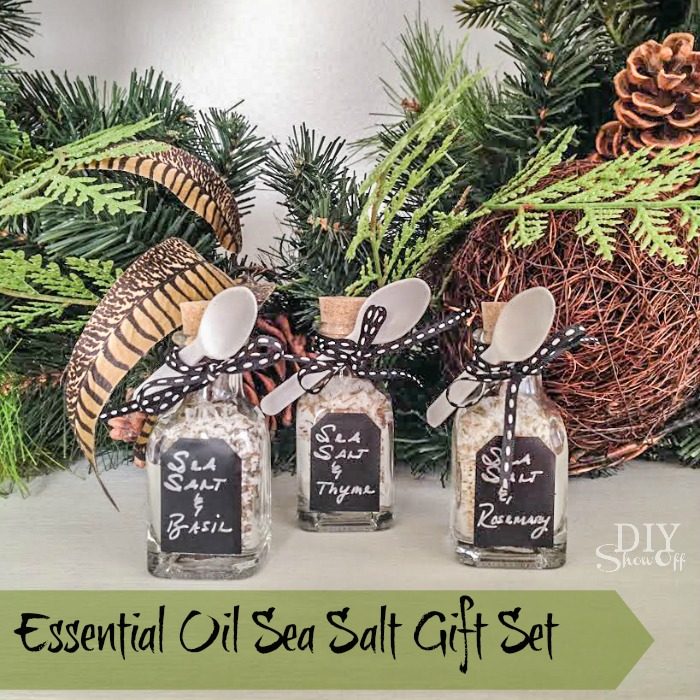 Diy Essential Oil And Sea Salt Gift Setdiy Show Off