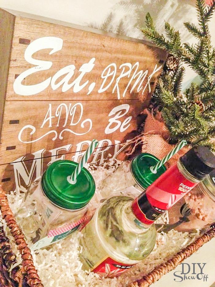 DIYShowOff holiday essential oils gift basket idea