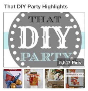 That DIY Party Pinterest Board