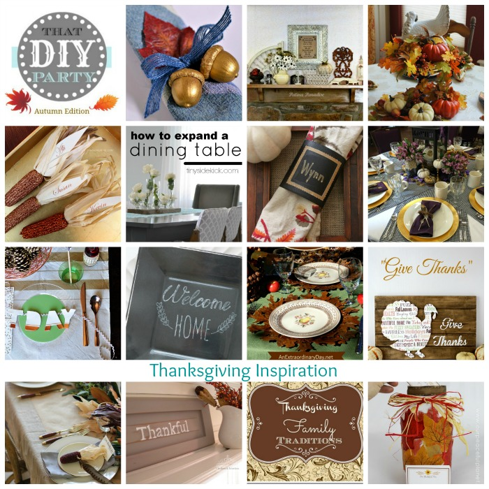 That DIY Party Thanksgiving Highlights @diyshowoff