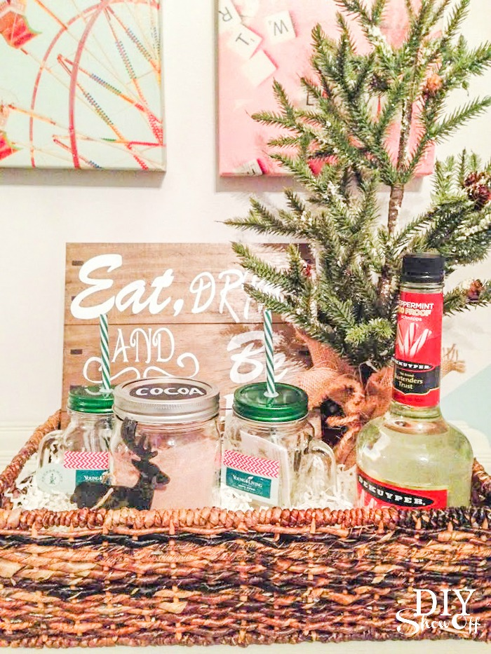 Essential Oil Gift Basket Ideas Blog Hopdiy Show Off