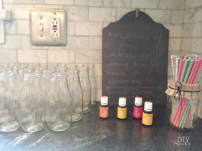 Young Living essential oils Make & Take Holiday Open House ideas @diyshowoff