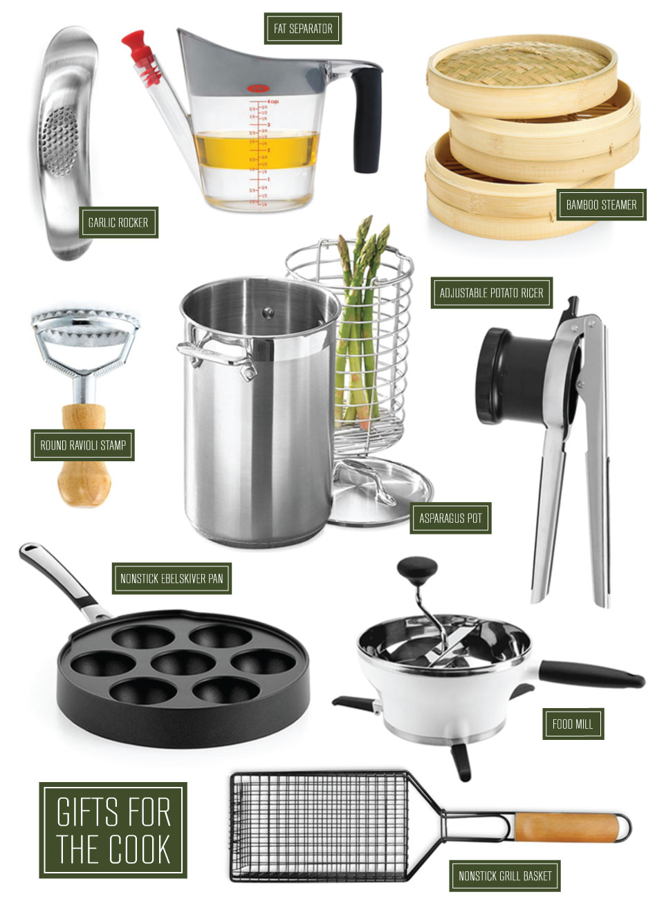 Cooking Utensils Small Kitchen Liances And Gadgets Are Always Great Gift Ideas For Those Who Love To Cook