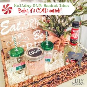 holiday YL essential oils gift basket idea @diyshowoff