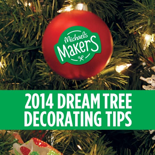 dream tree decorating tips @diyshowoff #michaelsmakers