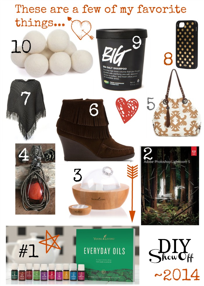 2014 Favorite Things @diyshowoff