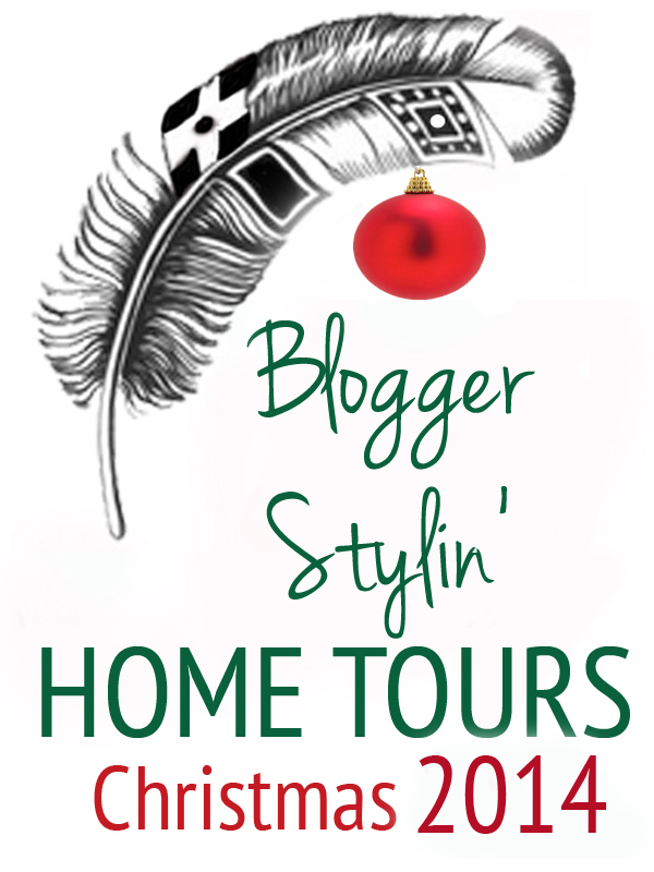 Blogger Stylin' Home Tours Christmas 2014