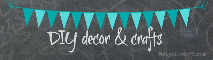 DIY decor & crafts @diyshowoff