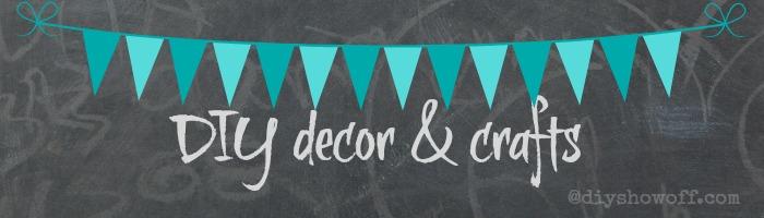 DIY decor & crafts @diyshowoff