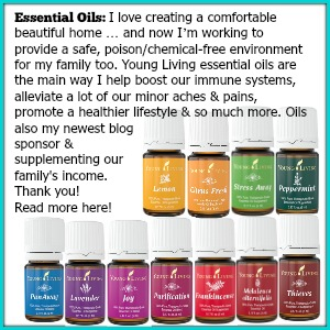 Young Living essential oils @diyshowoff
