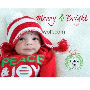 Merry & Bright @diyshowoff.com