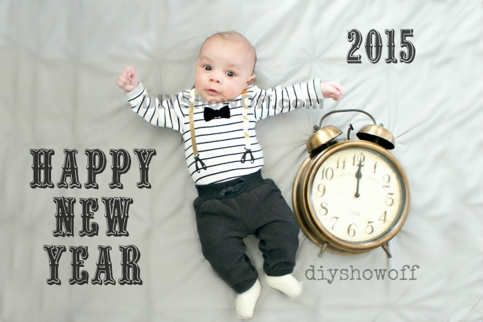 New Year's Baby @diyshowoff