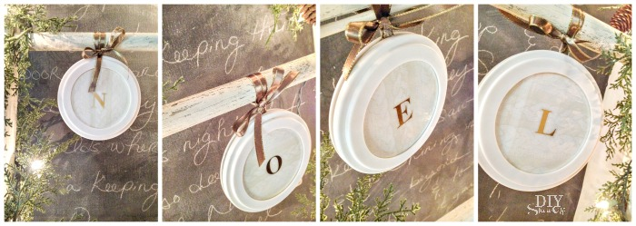 easy personalized DIY ornaments @diyshowoff #lowescreator