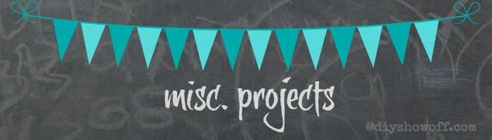 misc. DIY projects @diyshowoff