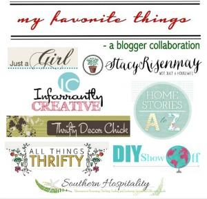my favorite things blog hop @diyshowoff