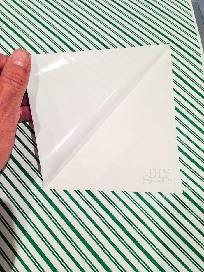 JOY vinyl covered blocks tutorial @diyshowoff #happycrafters