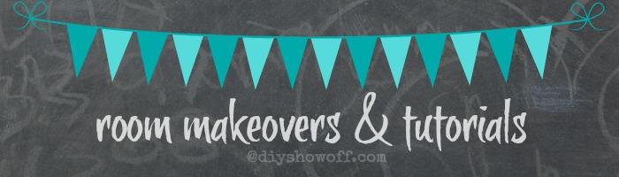 room makeovers & tutorials @diyshowoff