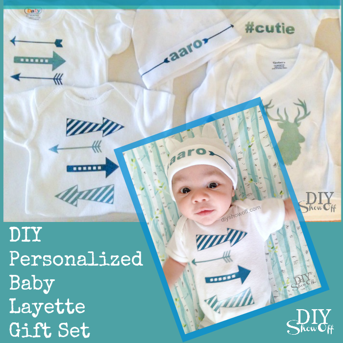 Baby gifts archives diy show off diy decorating and home diy personalized baby layette gift set diyshowoff negle Choice Image