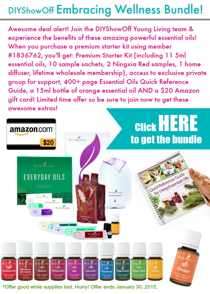 DIYShowOff January 2015 Essential Oil Bundle