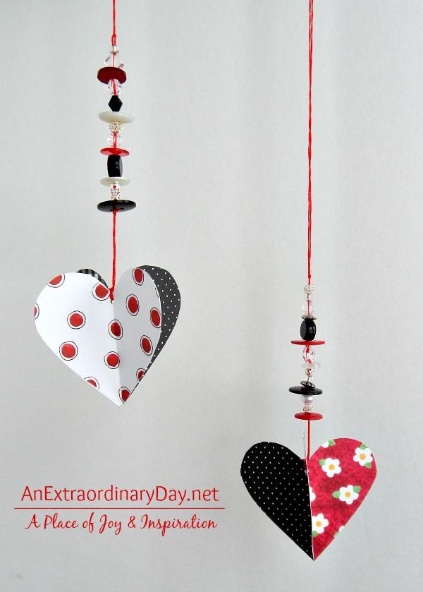 3d beaded hearts @anextraordinaryday blog
