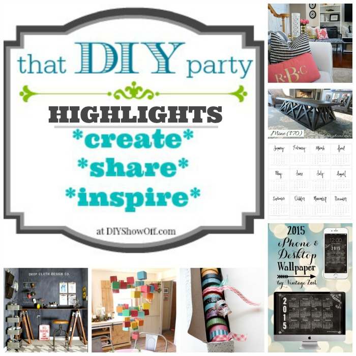 THAT DIY PARTY HIGHLIGHTS - favorites @diyshowoff