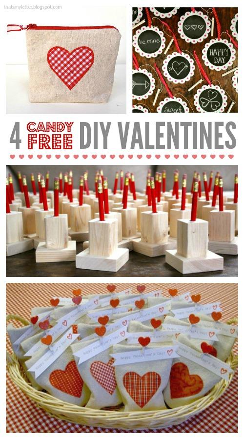 candy free diy valentines @thatsmyletter
