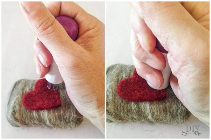 DIY felted soap tutorial @diyshowoff #michaelsmakers