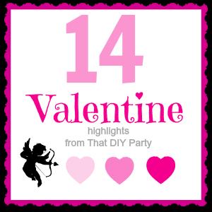 14 Valentine Features @DIYShowOff