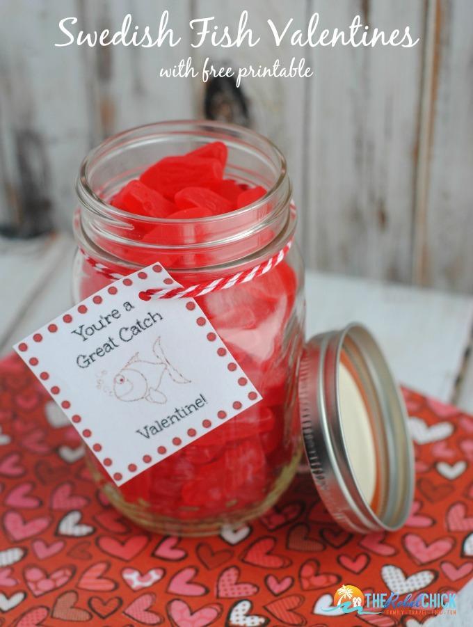 Swedish-Fish-Valentines-Crafts-with-free-Printable-Valentine @therebelchick