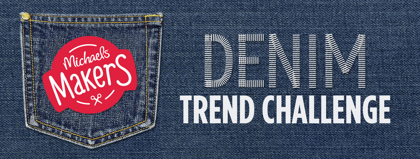 denim trend challenge #michaelsmakers
